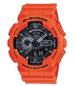 Casio-G-Shock-GA110MR-4A-Anadigi-Gshock-Watch-Orange-amp-Black-COD-PayPal