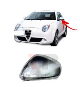Alfa Romeo Mito 2009-/> Primed Door Wing Mirror Cover Pair Left /& Right