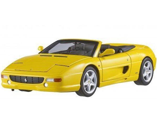 heta hjul Elite BLY35 1 18 Ferrari F355 Spider tärningskast modellllerler gul bil