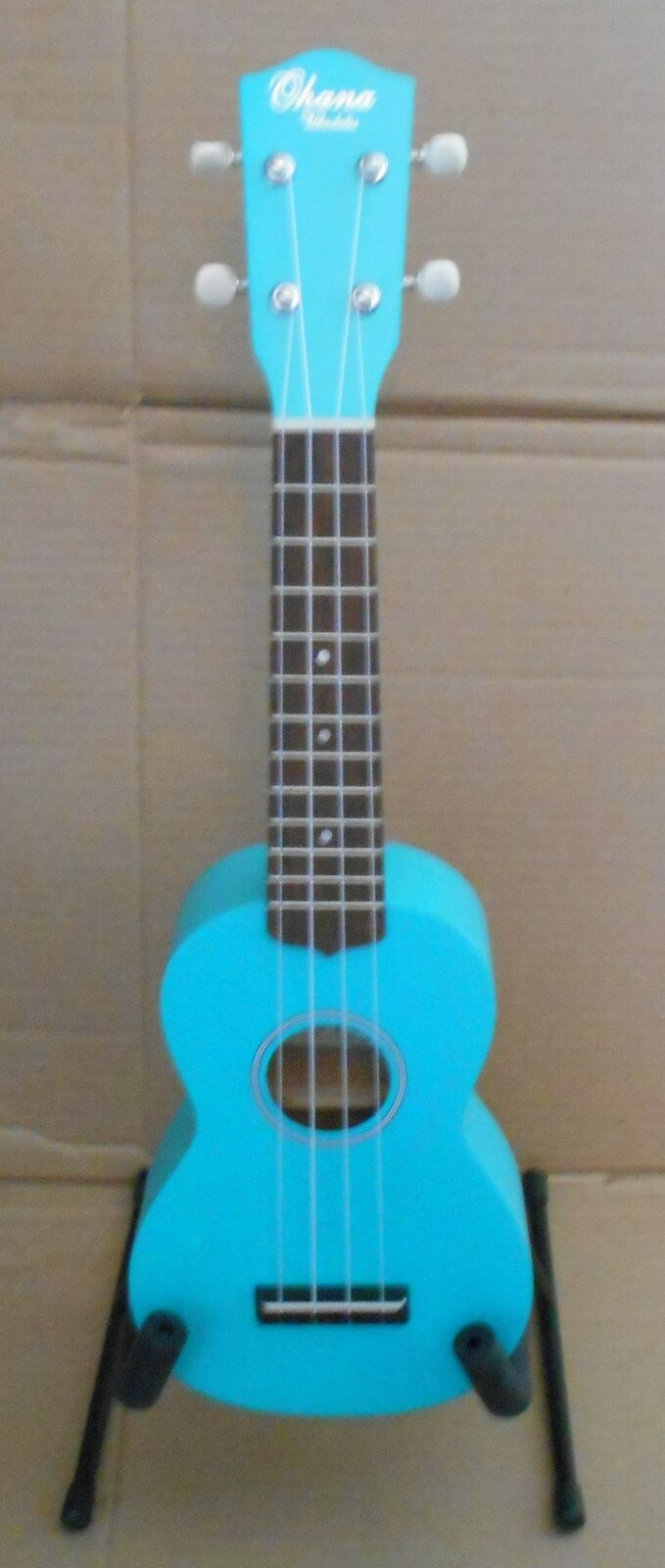 Ohana SK-10TQ Turquoise Soprano Ukulele