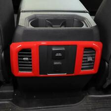 For Ford Mustang 2015 ACC 271055-RD A//C Vent Trim w Red Mustang Lettering