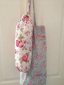 Cath Kidston Ikea White Rosali Fabric Carrier Bag Holder