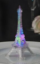 "Eiffel Tower Replica- 5"" Lights up with changing colors & intermittent flashes"