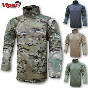 CLEARANCE-VIPER-WARRIOR-UBAC-SHIRT-MENS-S-2XL-ARMY-AIRSOFT-MTP-VCAM-CAMOUFLAGE