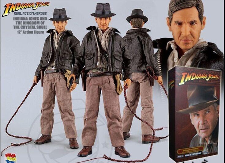 Juguete 1/6 héroes de acción real Medicom Indiana Jones desde el Reino del Cristal Cráneo 4394