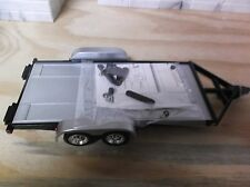 Sunnyside LTD. Die-Cast Car Trailer 1:24 with Trailer hitch kit Black