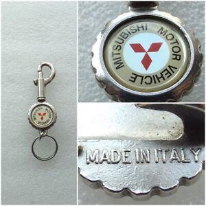 Vintage Italy Mitsubishi Motor Vehicle / Keychain / Key Ring / Bottle Opener