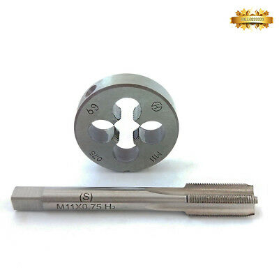 Screw DIE M11*1.25 H2 Screw Tap /& Threading Die /& Wrench Woodworking Tool TAP