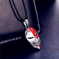 Anime Bleach Ichigo Kurosaki Mask Pendant Cosplay Necklace Metal Toy