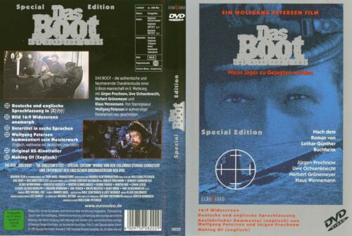 1 von 1 - Das Boot - Director's Cut: mit Jürgen Prochnow, Herbert Grönemeyer !! Wie NEU !!