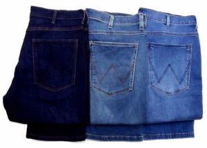 Mens Ex Wrangler Brand Arizona Comfort Stretch Jeans RRP £75 (SECONDS) WA116