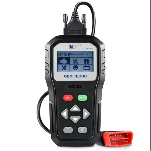 Automotive OBD2 EOBD Clear// Erase ECU Code Reader Scanner Car Diagnostic Tool