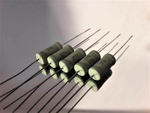 4 Watt 5 Resista Mox Widerstände 91R +// 5/%