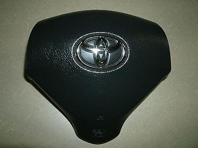 Toyota Prius Driver Main Air Bag Airbag Chromium Emblem 04-05-06-07-08-09 OEM