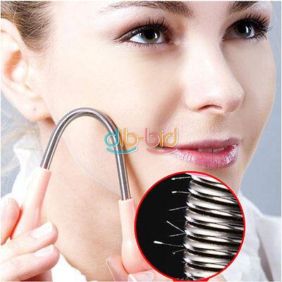 2Pcs Facial Epilator Thread Epistick Beauty Makeup Face Hair Remover Stick OC