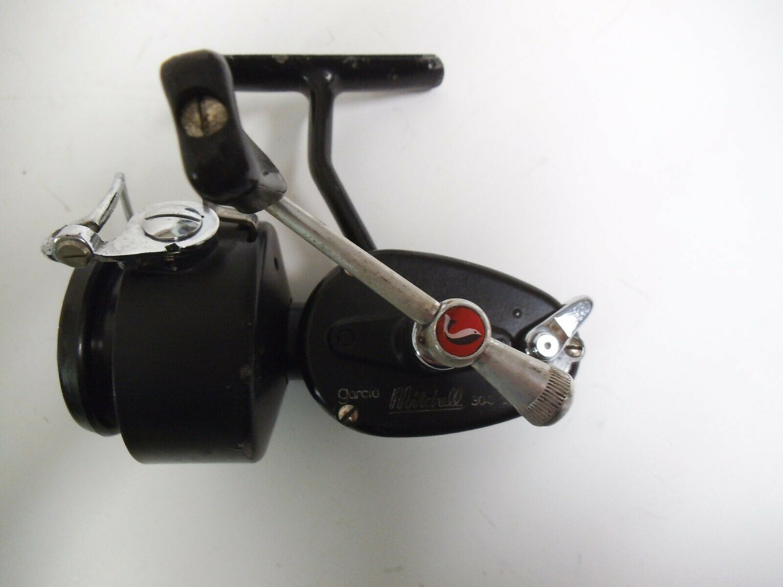 Vintage, Garcia MITCHELL 300C Spinning Fishing Reel Made In France, RH Working