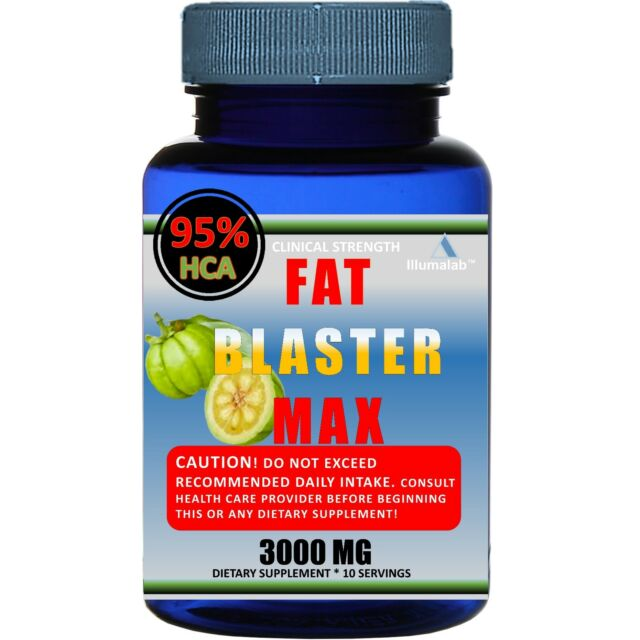 100% Pure Garcinia Cambogia 3,000mg 95% HCA Weight Loss Fat BURNER Diet