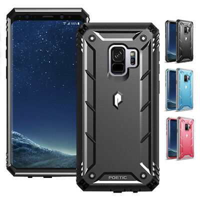 online store dc0b7 ed4eb Poetic 360 Degree Protection Case for Samsung Galaxy S9 Revolution Cover  Black