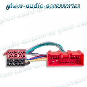 Mazda 2 2003 ab ISO Radio / Stereo Kabelbaum/Adapter/Verkabelung Anschluss