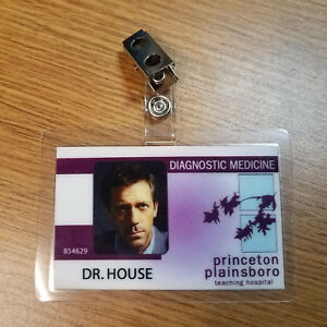House-TV-Show-ID-Badge-Dr-House-prop-costume-cosplay