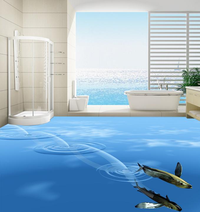 3D Ozean Fisch 427 Fototapeten Wandbild Fototapete Tapete Familie DE Lemon