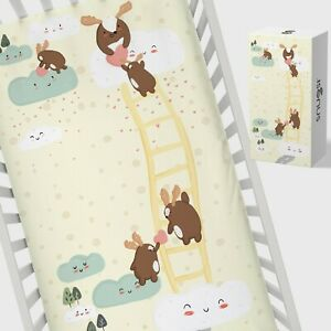 Snugsi-100-Cotton-Baby-Nursery-Cot-Fitted-Sheet-with-Gift-Box-Love-Shower