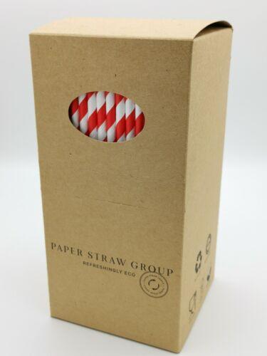 500 Paper straws Bulk paper straws Uk made 6mm   500 //1000 5000 Compostable
