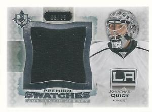 JONATHAN-QUICK-2013-14-Ultimate-Collection-Premium-Swatches-35-UD-L-A-Kings