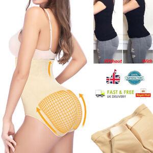 BOY SHORTS Shapewear Padded Hip /& BUTT Enhancer Removable Pads Booty Panty