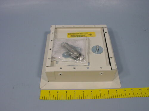 """Nystrom ITK0808 8/"""" x 8/"""" Insulated Fire-Rated Access Door with Flange Steel Whi"""