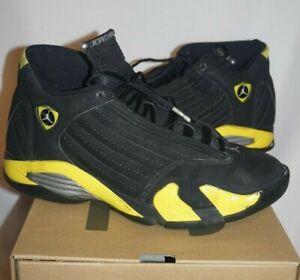 reputable site 56f18 16e18 Nike Air Jordan Retro 14 Taxi sz. 10   eBay
