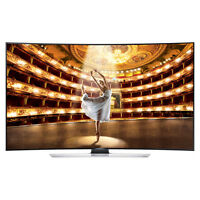 Samsung Un55hu9000 Curved 55-inch 4k Ultra Hd 120hz 3d Smart Led Hdtv Bundle on sale
