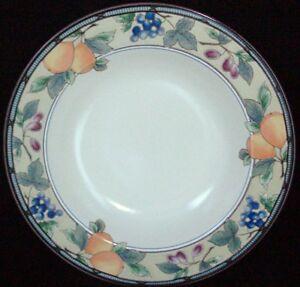 Mikasa Intaglio Garden Harvest Large Rim Soup Bowl Mint Ebay