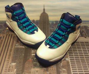 low priced 71b64 be025 Image is loading Nike-Air-Jordan-X-10-Retro-BG-Charlotte-