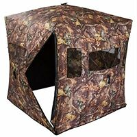 2/3 Man Shooting Hub Blind Hunting Hide Tent Camo Pop Up Carp Fishing Bivvy
