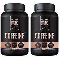Caffeine Pills 400 Capsules 200mg Full Energy Focus Performance Endurance