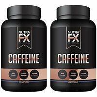 Caffeine Pills 400 Capsules 200mg Full Energy Focus Performance Endurance