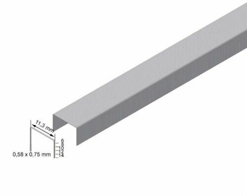 Handheftpistole PREBENA Klammer VX CNK verzinkte Heftklammer 6-8mm lang f