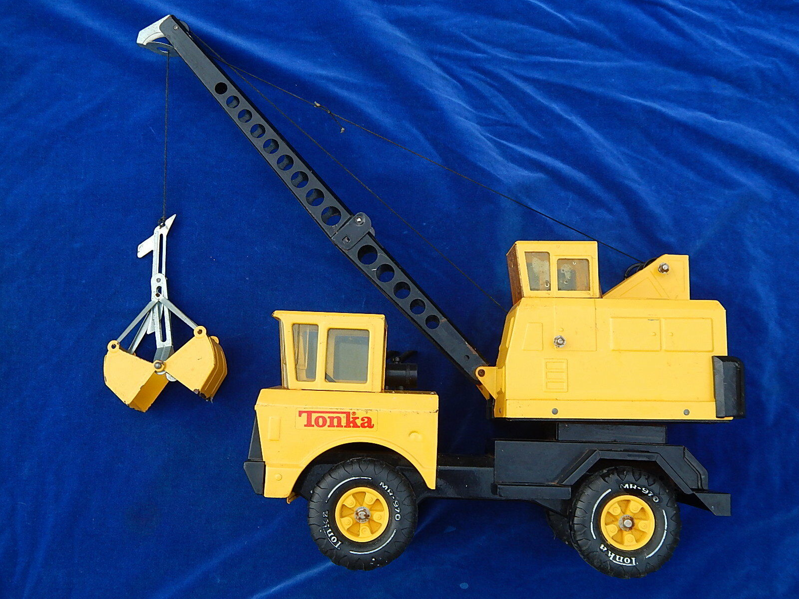 TONKA   MIGHTY - GRUE   Crane - MR-970 - BEL ETAT   Nice condition