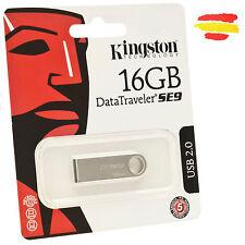 PENDRIVE 16GB KINGSTON DTSE9H/16GB MEMORIA USB 2.0 16 GB ORIGINAL PEN DRIVE