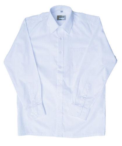 Zeco Boys White Long Sleeve Shirt NEW!! Various Sizes