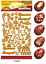 Golden-Stickers-for-Decoration-Easter-Egg-Patterns-Doves-Angels-Pomegranate-Dye thumbnail 4