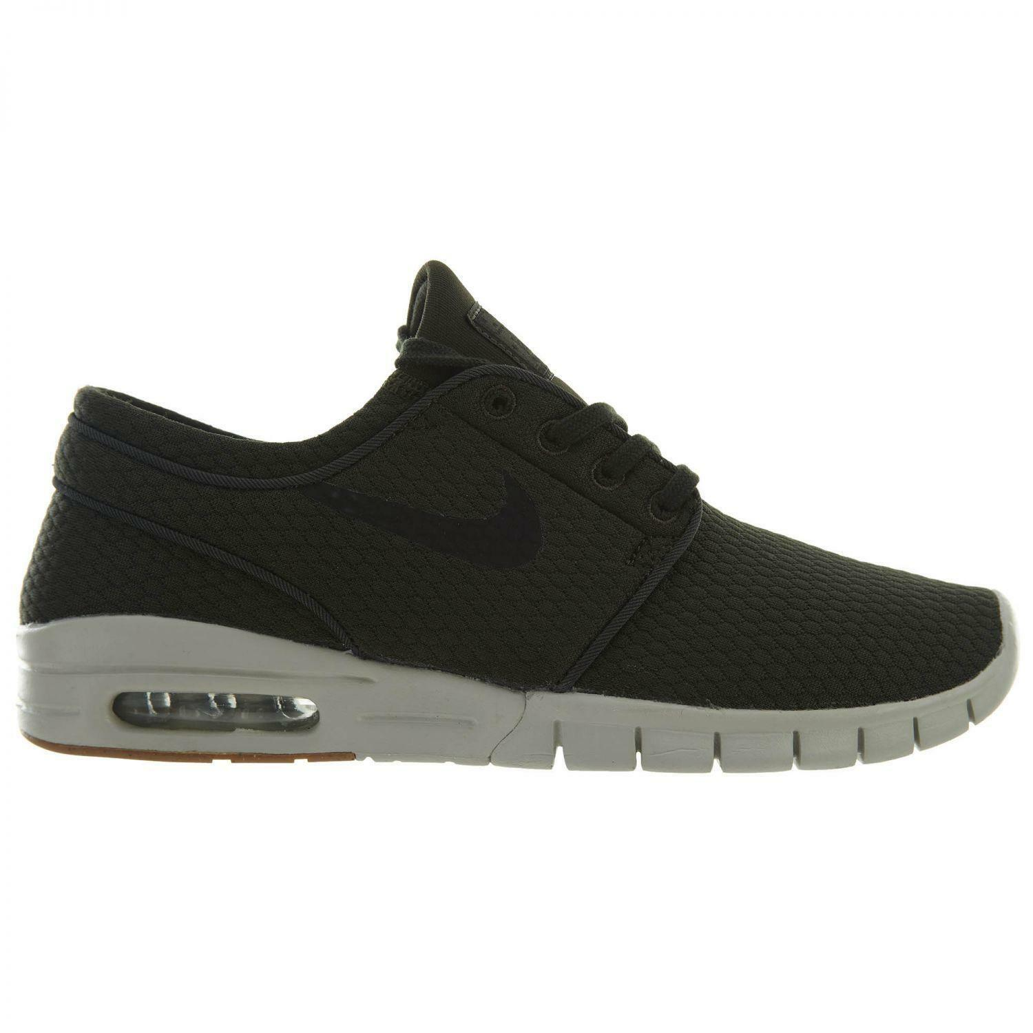 Mens NIKE STEFAN JANOSKI MAX Dark Green Trainers 631303 302