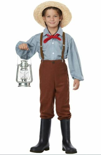 California Costumes Frontier Colonial Child Costume Tom Sawyer Pioneer Boy