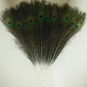 Wholesale quality beautiful natural peacock feathers eyes 10-36 inches/25-90 cm