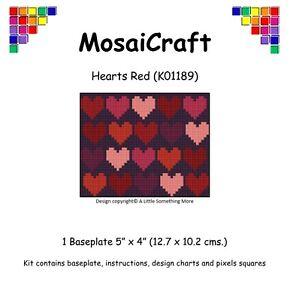 MosaiCraft Pixel Craft Mosaic Art Kit /'Colourful Flowers/' Pixelhobby