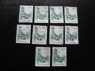 Briefmarke Yvert Und Tellier Nr 1409 X10 Gestempelt Monaco Briefmarke QualitäTswaren a26