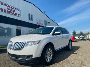 2013 Lincoln MKX AWD- LEATHER, NAV, HEATED/COOLED SEATS, HEATED WHEEL, REMOTE START