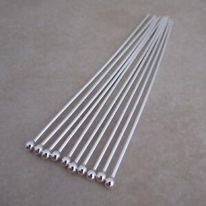 heavyweight-sterling-silver-925-headpins-ball-pins-2-inch-21-gauge-2mm-ball