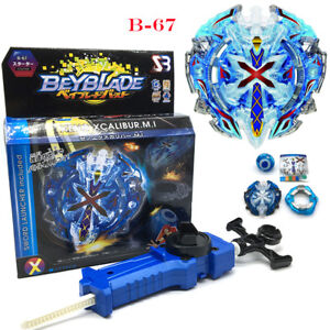 Beyblade-Burst-Limited-B-67-Xeno-Xcalibur-M-I-Sword-Gift-With-Launcher-amp-Ripcord